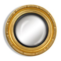 Nautical Rondel Convex Mirror