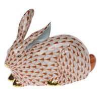 Herend Lying Rabbit