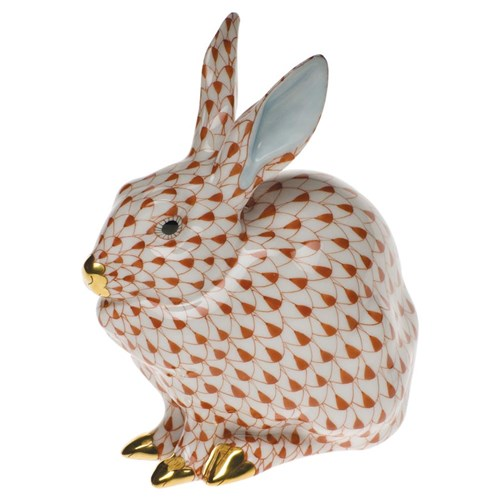 Herend Sitting Bunny