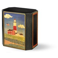 Montauk Lighthouse Wastebasket