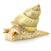Herend Snail, Butterscotch