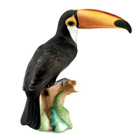 Herend Natural Toucan Figurine