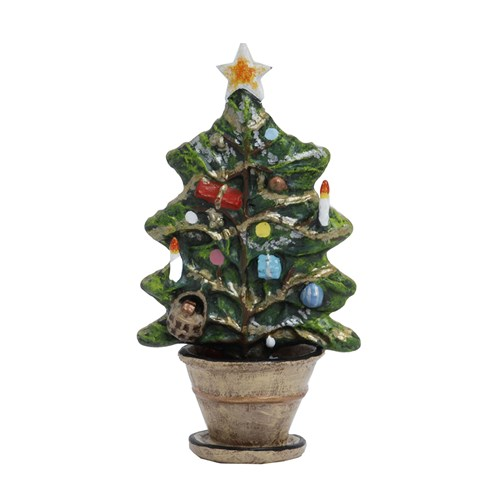 Austrian Bronze Christmas Tree, Large Figurine