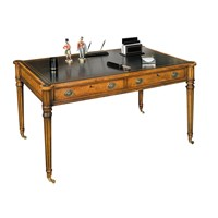 Gillows Writing Table Myrtle & Black