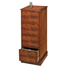 Elm Vertical Four-Drawer File Cabinet