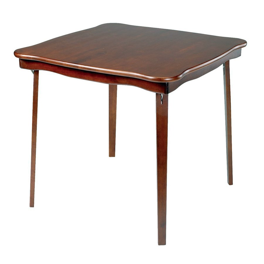 Cherry Game Folding Table Bridge Tables