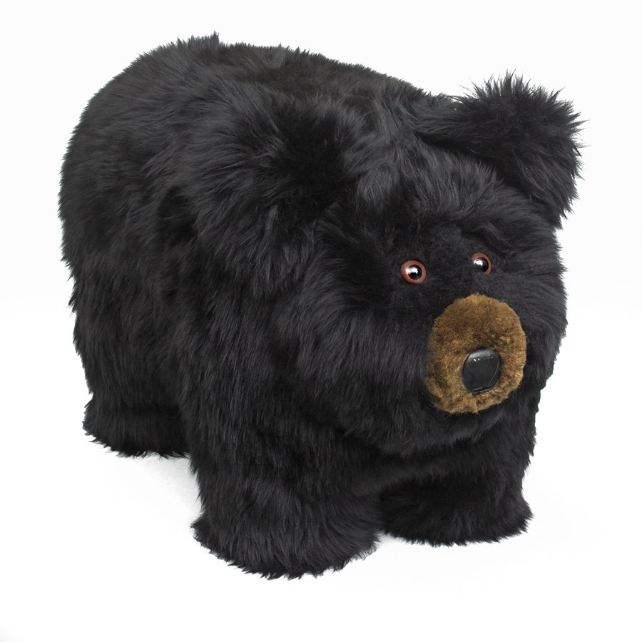 Black Bear Footstool Benches Ottomans Amp Stools