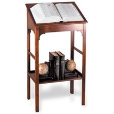Mahogany Dictionary Stand