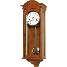 Yew Break Arch Regulator Wall Clock