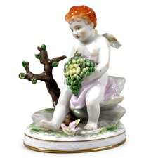 Porcelain Summer Figurine