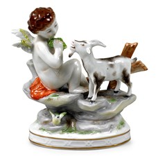 Porcelain Fall/Autumn Figurine