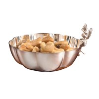Silverplate Squirrel Fluted Nut Dish