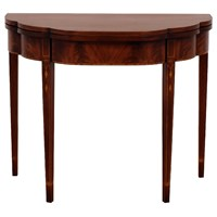 Myers Flip-Top Mahogany Card Table