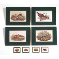 English Game Bird Placemats & Coasters