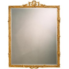 The Ritz Antique Gold Beveled Mirror