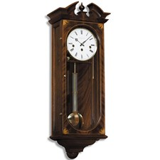 Inlaid Mahogany Regulator Clock