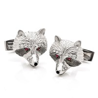 Raccoon Cufflinks .29cts Diamonds