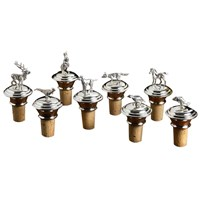 Sterling and Cork Bottle Stoppers