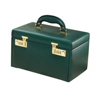 Four-Drawer Jewelry Case Green