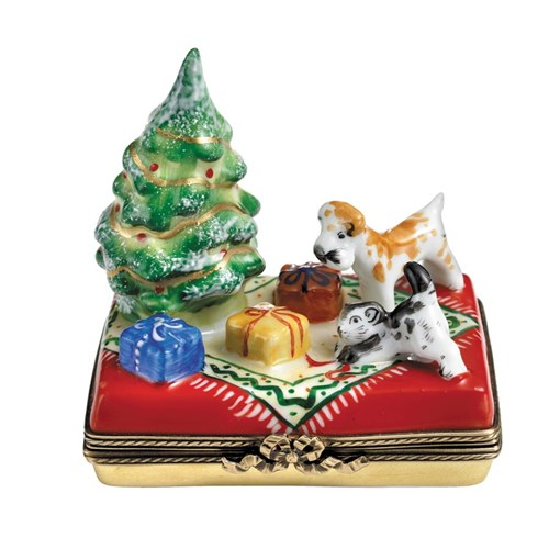 Christmas Tree Gifts Pets Limoges Box