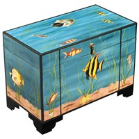 Aquarium Table Box w/ File Rods