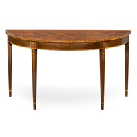 Mahogany Hall Console Table