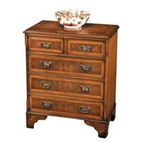 Mahogany Chest with Slide