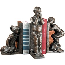 Hide and Seek Bookends 3 Piece Set
