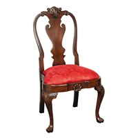 Queen Anne Pad Toe Side Chair