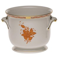 Herend Chinese Bouquet Cachepot, Rust