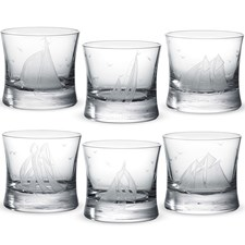 Golden Age of Yachting Old Fashioneds, Set of 6