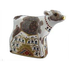 Royal Crown Derby Calf Paperweight