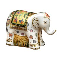 Indian Elephant Medium Baby Paperweight