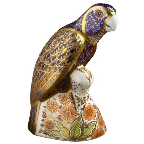 Bronze Winged Parrot Paperweight