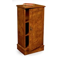 Burr Elm Pot Cupboard