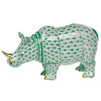 Herend Small Rhino