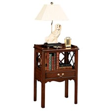 Mahogany Lattice Night Stand