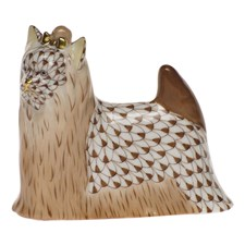 Herend Yorkshire Terrier Figurine