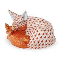 Herend Sleeping Fox Figurine