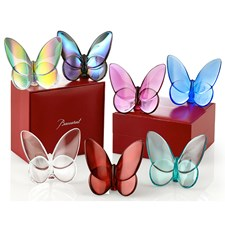 Baccarat Crystal Lucky Butterflies (Assorted Colors)