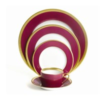 Haviland Laque de Chine Aubergine Charger