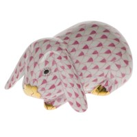 Herend Lop Eared Bunny Figurine