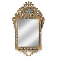 Large Gilt Venetian Mirror