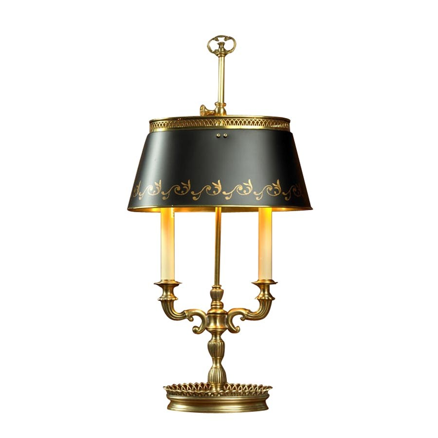 Brass candelabra lamp table desk lamps lamps home for Decoration lamps