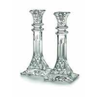 "Waterford ""Lismore"" 10"" Candlestick, Set of 2"