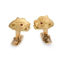 Panther Head Cufflinks