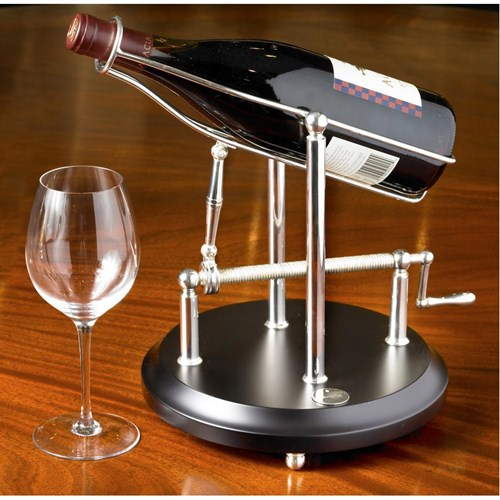 Ercuis Silverplated Wine Decanting Machine