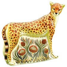 Royal Crown Derby Cheetah Adult Paperweight