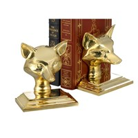 Fox Mask Bookend / Doorstop