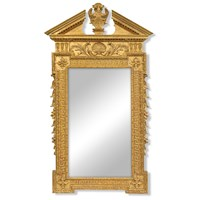 24k Gold William Kent Mirror
